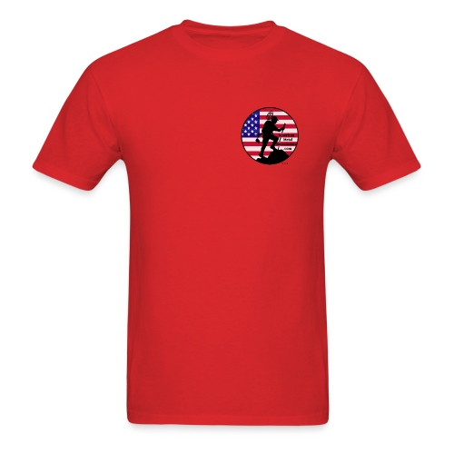 Detectorist front breast - Men's T-Shirt