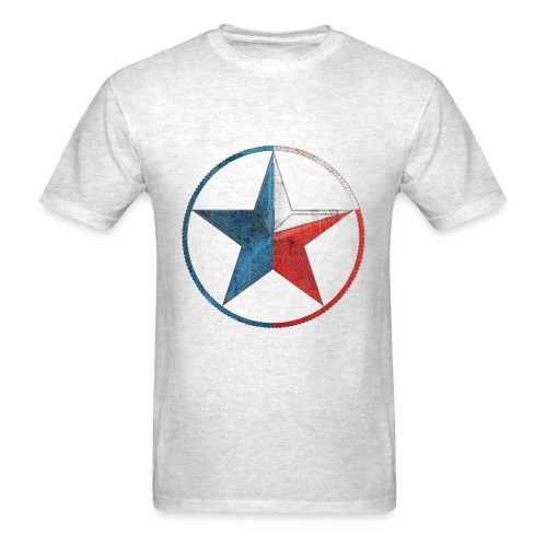 Faded Texas Lone Star - Men's T-Shirt