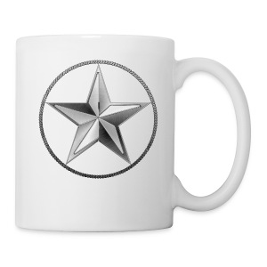 Silver Lone Star - Coffee/Tea Mug