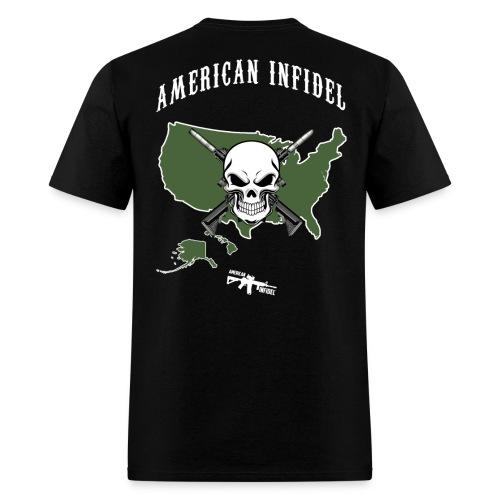 American Infidel - Men's T-Shirt