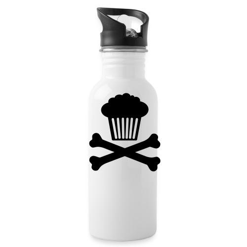 Muffin in x-bones water bottle - Water Bottle