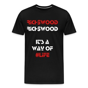 Rich$Wood - Men's Premium T-Shirt