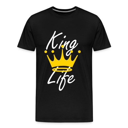 The Life Of A King - Men's Premium T-Shirt