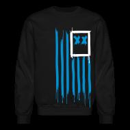 Long Sleeve Shirts ~ Crewneck Sweatshirt ~ x's & stripes crew