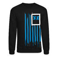 Long Sleeve Shirts ~ Crewneck Sweatshirt ~ x's & stripes crew