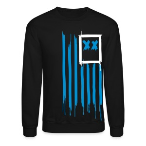 x's & stripes crew - Crewneck Sweatshirt