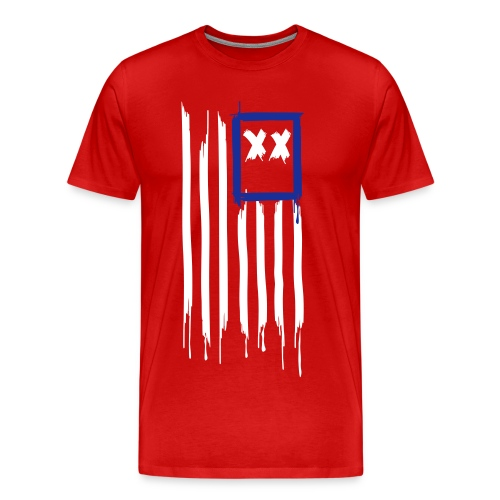 x's & stripes - Men's Premium T-Shirt