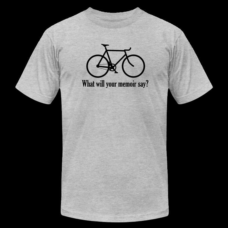 What will your memoir say? - Men's Fine Jersey T-Shirt