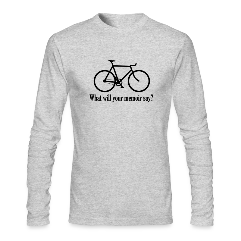 What will your memoir say? - Men's Long Sleeve T-Shirt by Next Level