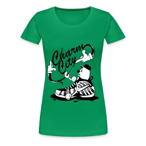 Charm City  - Women's Premium T-Shirt