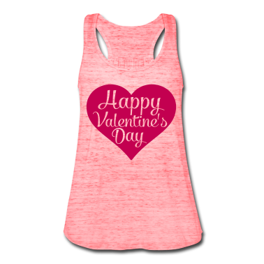 happy valentines day heart Tanks