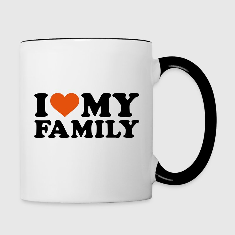 I love my Family Accessories - Contrast Coffee Mug