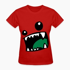 Monster Mouth Women's T-Shirts