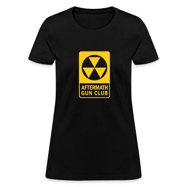 Aftermath Gun Club Agc Fallout Shelter Womens T Shirt