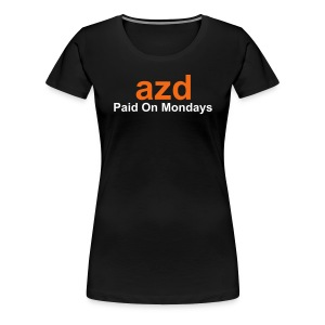 AZD Official Womens Tee - Women's Premium T-Shirt