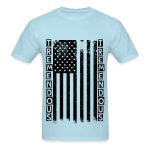 Tremendous American Flag - Men's T-Shirt