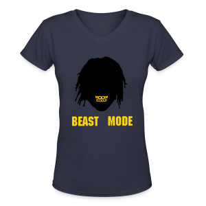 Grill Mode - Women's V-Neck T-Shirt