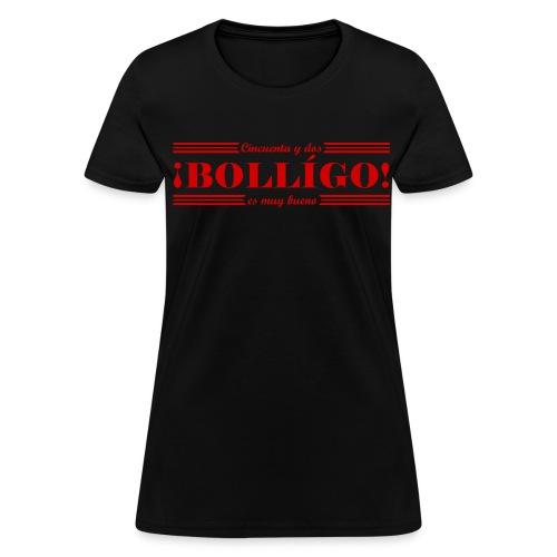 ¡BOLLÍGO! Women's Tee - Black - Women's T-Shirt