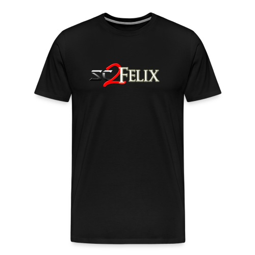 SC2Felix Stream Logo Uni-sex T-shirt - Men's Premium T-Shirt