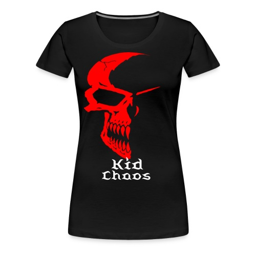 Kid Chaos (Female) - Women's Premium T-Shirt