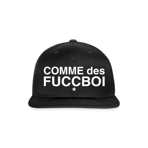 COMME DES FUCCBOI - SNAPBACK - Snap-back Baseball Cap