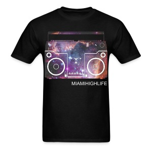 Galaxy radio - Men's T-Shirt