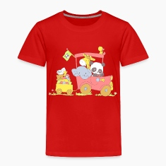 Hey little Panda where are you going? Baby & Toddler Shirts