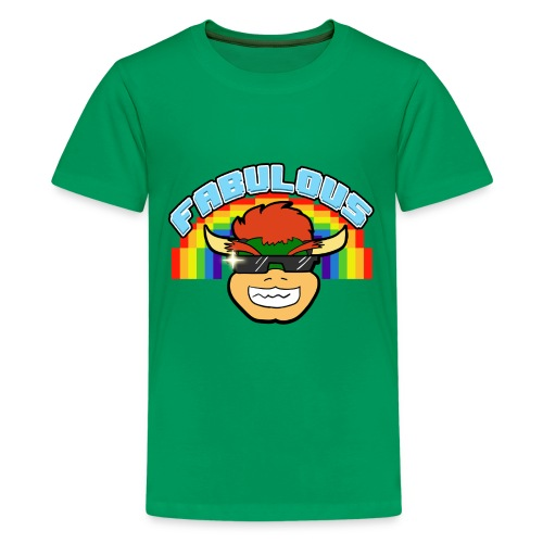 Bowser approved FABULOUS shirt - KIDS - Kids' Premium T-Shirt