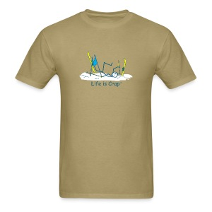 Ski Crash - Mens Classic T-Shirt - Men's T-Shirt