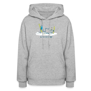 Ski Crash - Womens Hooded Sweatshirt - Women's Hoodie
