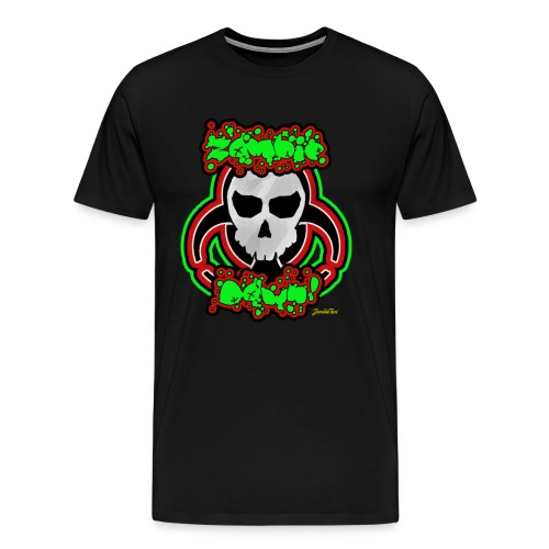 Zombie Down! - Men's Premium T-Shirt