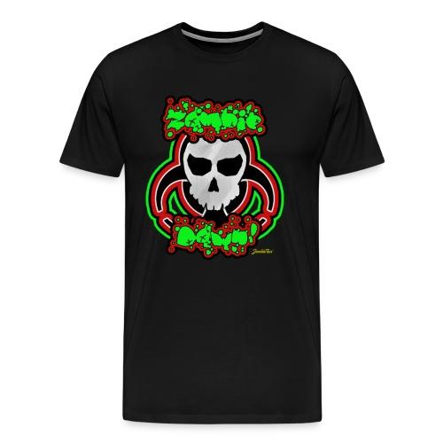 Zombie Down! - Men's Premium T-Shirt