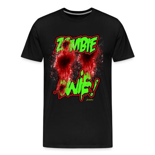 Zombie Owie! - Men's Premium T-Shirt