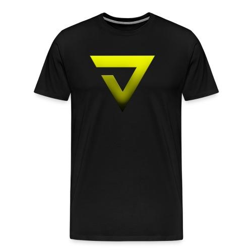 V7 Logo With Text - Men's Premium T-Shirt