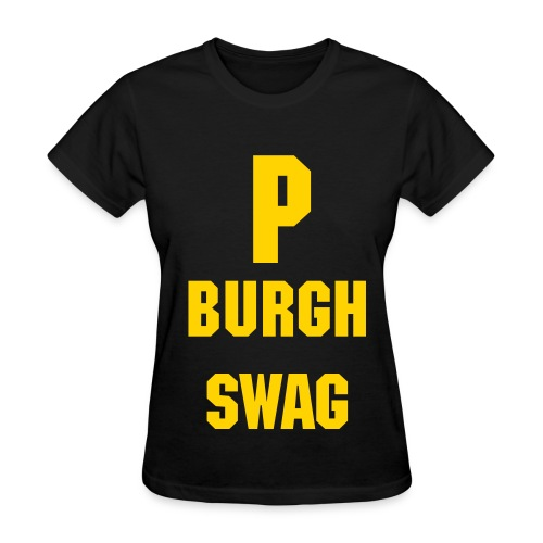 Women's standard weight P Burgh swag  tee - Women's T-Shirt