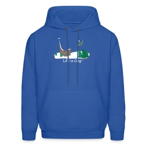 Ski Jump - Mens Hooded Sweatshirt - Men's Hoodie