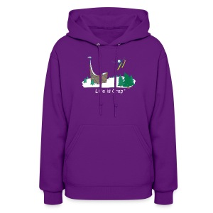 Ski Jump - Womens Hooded Sweatshirt - Women's Hoodie