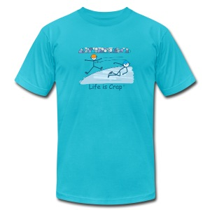 Speed Skate - Mens T-Shirt by American Apparel - Men's T-Shirt by American Apparel