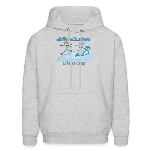 Speed Skate - Mens Hooded Sweatshirt - Men's Hoodie
