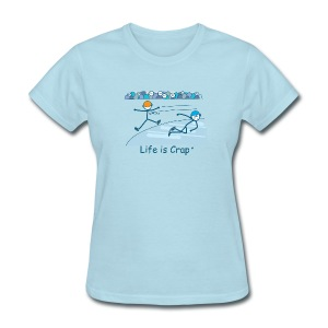 Speed Skate - Womens Classic T-Shirt - Women's T-Shirt