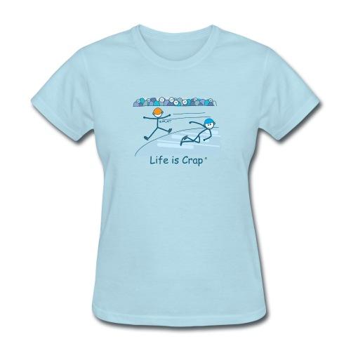 Speed Skate - Womens Classic T-Shirt - Women's T-Shirt
