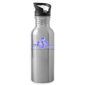 Fit By Faith Logo Stainless Steel Water Bottle - Water Bottle