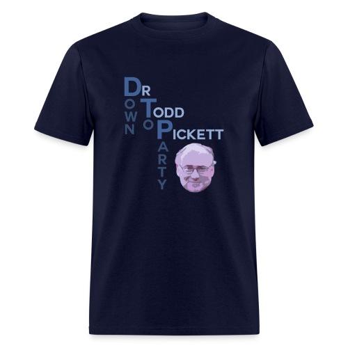DTP: Down To Party - Men's T-Shirt