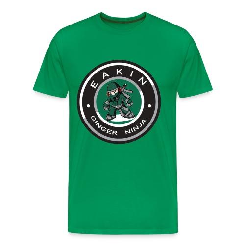 Eakin Ginger Ninja - Men's Premium T-Shirt