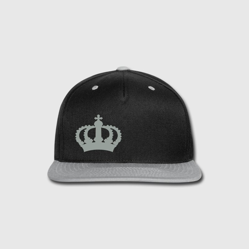 Keep Calm with this Custom Crown and Custom Text Caps - Snap-back Baseball Cap