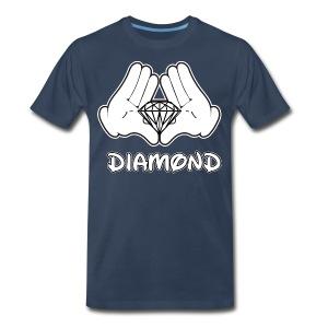 Spec Diamond Shirt - Men's Premium T-Shirt