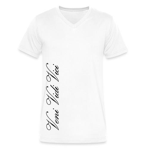 V-Neck T-Shirt Veni Vidi Vici - Men's V-Neck T-Shirt by Canvas