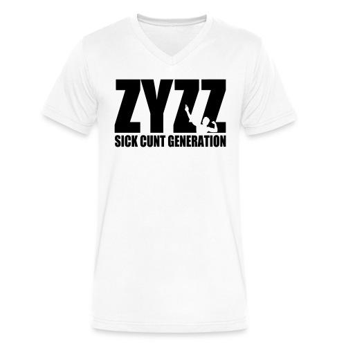 V-Neck T-Shirt Zyzz Sickkunt Generation - Men's V-Neck T-Shirt by Canvas