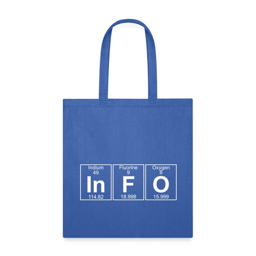 In-F-O (info) - Full - Tote Bag