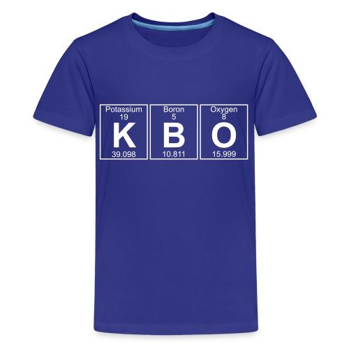 K-B-O (kbo) - Full - Kids' Premium T-Shirt